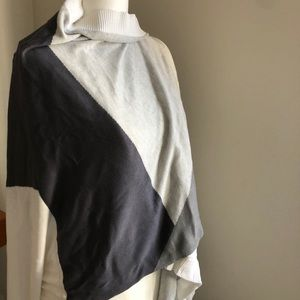 Lululemon hatha wrap one size grey and white